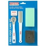 Titania 5 Piece Foot Care Set