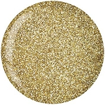 Cuccio Pro Powder Polish Dip System 1.6oz Rich Gold Glitter #5558