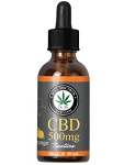 Dr. B's CBD Orange Tincture 500mg 1fl. oz,