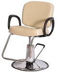 Pibbs 5406 Hydraulic Loop Styling Chair - American Slim