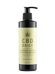 CBD Daily Massage Lotion 8 fl.oz.