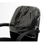 B/D 197 Clear Round Chair Back Cover