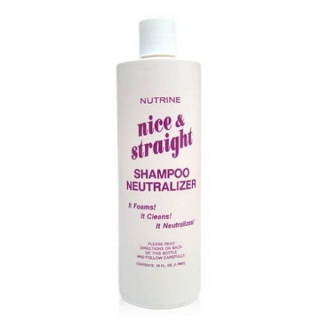 Nutrine Nice & Straight Shampoo Neutralizer [16 oz]